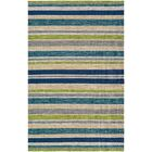 Cordero Hand-Woven Ocean Blue Indoor/Outdoor Area Rug Rug Size: Rectangle 8' x 10'