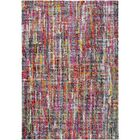 Dorchester Bright Pink/Medium Gray Abstract Area Rug Rug Size: Rectangle 5'3