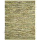 Declan Hand-Woven Light Green Area Rug Rug Size: Rectangle 8' x 10'