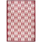 Charlotte Red Indoor/Outdoor Area Rug Rug Size: Rectangle 7'10