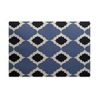 McGuinness Geometric Print Navy Blue Indoor/Outdoor Area Rug Rug Size: Rectangle 3' x 5'