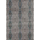 Penny Gray/Blue Area Rug Rug Size: 5'3