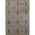 Penny Yellow/Gray Area Rug Rug Size: Rectangle 5'3
