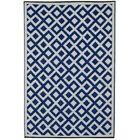 Reva Hand Woven Blue Indoor/Outdoor Area Rug Rug Size: 5' x 8'