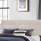 Decker Upholstered Panel Headboard Size: King, Upholstery: Fog