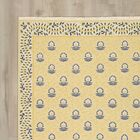 Glarus Handmade Yellow Area Rug Rug Size: Rectangle 5'6