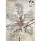 Pranav Ivory Area Rug Rug Size: Rectangle 7'10