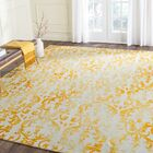 Coleman Hand-Tufted Ivory/Gold Area Rug Rug Size: Rectangle 4' x 6'