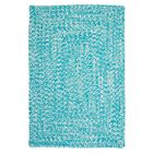 Hawkins Turquoise Indoor/Outdoor Area Rug Rug Size: Rectangle 7' x 9'