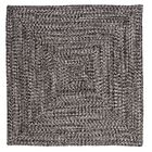 Hawkins Blacktop Indoor/Outdoor Area Rug Rug Size: Square 4'