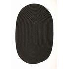 Mcintyre Black Indoor/Outdoor Area Rug Rug Size: Oval 12' x 15'