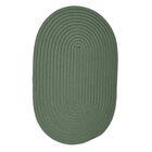 Mcintyre Myrtle Green Indoor/Outdoor Area Rug Rug Size: Oval 3' x 5'