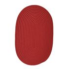 Mcintyre Sangria Indoor/Outdoor Rug Rug Size: Oval 4' x 6'