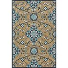 Southview Blue/Beige Indoor/Outdoor Area Rug Rug Size: Rectangle 7'6
