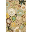 Doyle Taupe Indoor/Outdoor Area Rug Rug Size: Rectangle 5' x 7'6