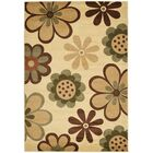 Rosario Contemporary Ivory Area Rug Rug Size: Rectangle 8' x 11'2
