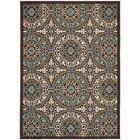 Tierney Brown Indoor/Outdoor Area Rug Rug Size: Rectangle 8' x 11'2