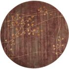 Smithtown Brown Area Rug Rug Size: Round 5'6