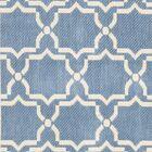 Short Intricate Blue/Beige Indoor/Outdoor Area Rug Rug Size: Rectangle 5'3