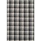 Ketner Jet Black/Pewter Area Rug Rug Size: Rectangle 5' x 8'
