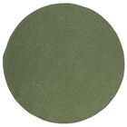 Mcintyre Moss Green Indoor/Outdoor Area Rug Rug Size: Round 12'