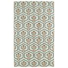 Gillespie Ivory Geometric Area Rug Rug Size: Rectangle 8' x 10'