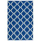 Tyesha Navy/Cream Indoor/Outdoor Area Rug Rug Size: Rectangle 9' x 12'