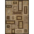 Sherill Brown Synthetic Area Rug Rug Size: Rectangle 7'10