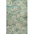 Sharell Hand-Tufted Light Blue Area Rug Rug Size: Rectangle 5' x 8'