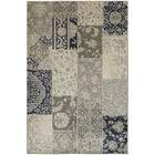 Harris Ivory/Gray Area Rug Rug Size: Rectangle 7'10