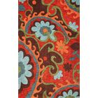 Bradshaw Serafena Red Area Rug Rug Size: Rectangle 3'3