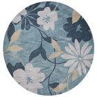 Bradshaw Seafoam/Gray Elegance Area Rug Rug Size: Rectangle 8' x 10'
