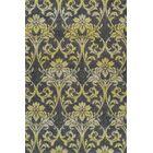 Babylon Yellow Ikat Pewter Area Rug Rug Size: Rectangle 7'10