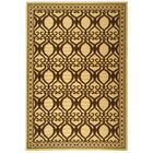 Short Natural/Brown Outdoor Rug Rug Size: Rectangle 4' x 5'7
