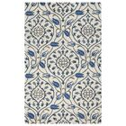 Hurst Hand-Tufted Ivory Area Rug Rug Size: Rectangle 9' x 12'