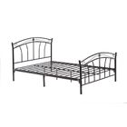 Strafford Platform Bed Color: Black, Size: Full