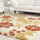 Trudie Beige/Rust Area Rug Rug Size: Rectangle 4' x 6'