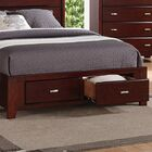Roney Storage Platform Bed Size: California King