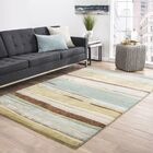 Williamsfield Hand-Tufted Green/Blue Area Rug Rug Size: Rectangle 2' x 3'