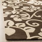 Marcello Light Brown / Light Ivory Contemporary Rug Rug Size: Rectangle 5' x 8'