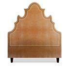 Sophie Upholstered Panel Headboard Size: California King, Upholstery: Cashew