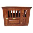 Dixie Handmade Furniture-Style Pet Crate Size: Medium (27