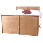 Leggett Queen Panel Bed Color: Chestnut Oak