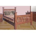 Aske Queen Panel Bed Color: Chestnut Oak