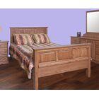 Askins King Panel Bed Color: Black Adler