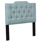 Feemster Saddle Back Button Tufted Upholstered Panel Headboard Size: King