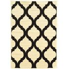 Divernon Ivory Area Rug Rug Size: Rectangle 5' x 7'