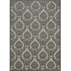 Weissport Gray Area Rug Rug Size: Rectangle 7'9