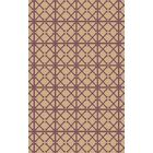 Donaghy Hand-Woven Beige/Magenta Area Rug Rug Size: Rectangle 8' x 10'