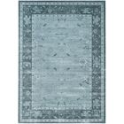 Piercefield Light Blue/Dark Blue Area Rug Rug Size: Rectangle 8' x 11'